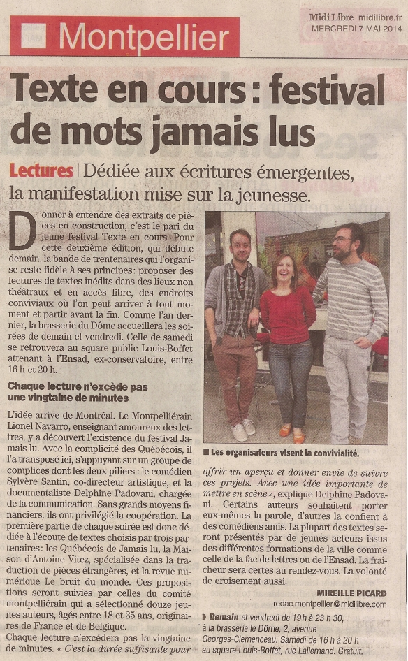 TEC - Midi Libre - 7 mai 2014