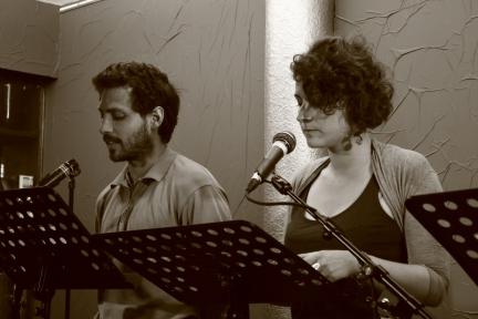 Eloïse Moisi et Hugo Giordano
