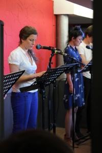 Charlotte Daquet, Sophie Lequenne et Jonathan Moussali dans
