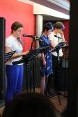 """Charlotte Daquet, Sophie Lequenne et Jonathan Moussali dans """"Crow Bar"""" de Gabriel Robichaud ©Tristan Demante"""