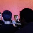 """Clémence Bigaud, Mathide Jaillette et Lou Barriol dans """"Le château de sable"""" de Mathilde Ulmer ©Tristan Demante"""