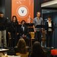"""Sylvère Santin, Hind Richard, Maximilien De Jong, Antoine Amblard et et Lise Boucon dans """"Amir avant"""" d'Auriane Abecassis"""