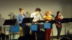 """Charlotte Pelletier, Simon Anglès, Sonia Franco et Suzy Fava dans """"Cédric"""" d'Adrien Cornaggia"""
