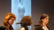"""Florine Maury, Lucie Bermejo et Emilie Crémoux dans """"Chante beau merle on te mettra en cage"""" de Natacha Dubois"""