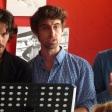 """Florent Dupuis, Morgan Sicard et Mathias Labelle dans """"Idoménée"""" de Roland Schimmelpfennig - traduit par Claire Stavaux"""