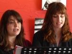 """Camille Soulerin et Laurie Barthélémy dans """"Idoménée"""" de Roland Schimmelpfennig - traduit par Claire Stavaux"""
